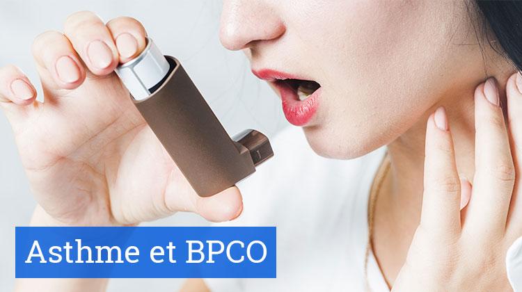 Asthme et BPCO : traitements et bon usage des inhalateurs